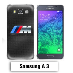 Coque Samsung A3 2017 BMW Carbone