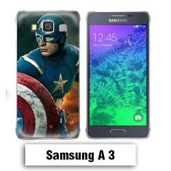 Coque Samsung A3 2017 Captain America Avengers