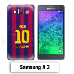Coque Samsung A3 2017 Barcelone Messi