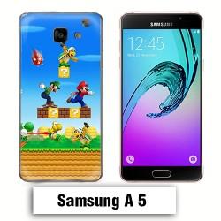 Coque Samsung A5 2017 Mario Bross jeu