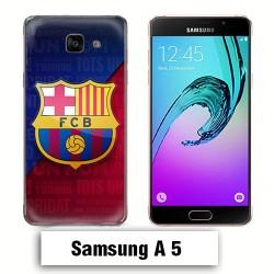 Coque Samsung A5 2017 logo FCB Barcelone Messi
