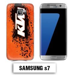 Coque Samsung S7 KTM cross enduro