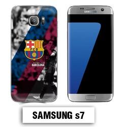 Coque Samsung S7 FCB Barcelone Messi