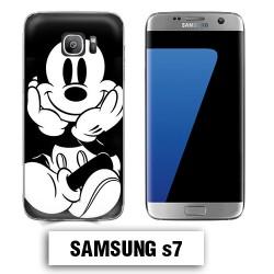 Coque Samsung S7 Mickey vintage
