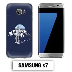 Coque Samsung S7 Star Wars Snowboard