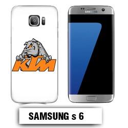 Coque Samsung S6 KTM buldog