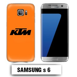 Coque Samsung S6 KTM orange