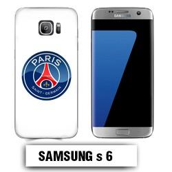 Coque Samsung S6 logo PSG