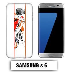 Coque Samsung S6 moto REPSOL
