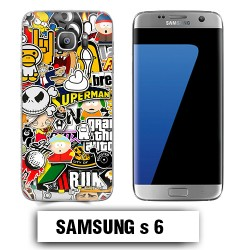 Coque Samsung S6 South Park Superman comics