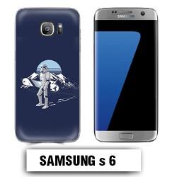 Coque Samsung S6 Star Wars Snowboard