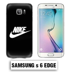 Coque Samsung S6 NIKE Noir