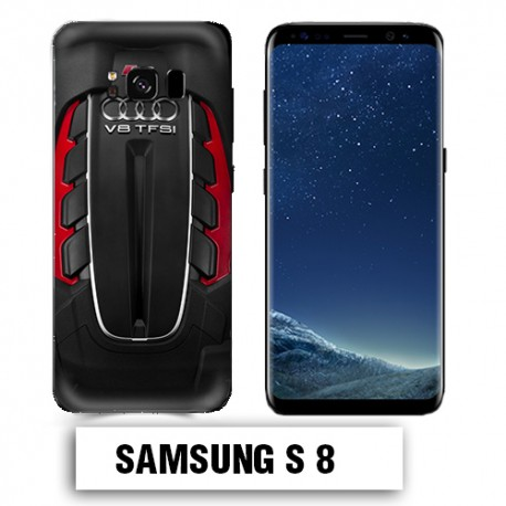 Coque Samsung S8 AUDI RS V8