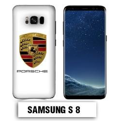 Coque Samsung S8 logo Porsche