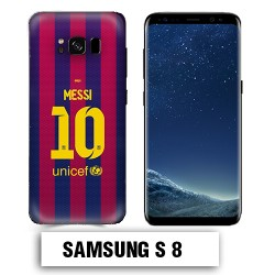 Coque Samsung S8 Barcelone Messi