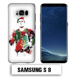 Coque Samsung S8 Ronaldo Madrid CR7