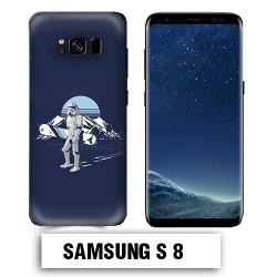 Coque Samsung S8 Star Wars Snowboard