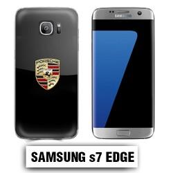 Coque Samsung S7 edge logo Porsche Carrera