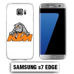 Coque Samsung S7 Edge KTM buldog