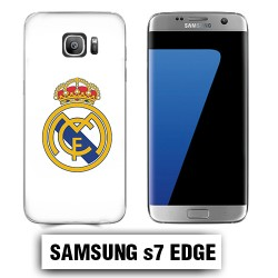 Coque Samsung S7 Edge Real Madrid foot