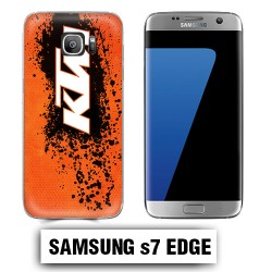Coque Samsung S7 Edge KTM cross enduro