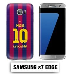 Coque Samsung S7 Edge Barcelone Messi