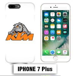 Coque iphone 7 PLUS moto cross KTM Bulldog