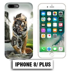Coque iphone 8 PLUS Tiger Robot
