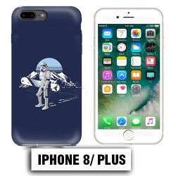 Coque iphone 8 PLUS Stars wars SnowBord