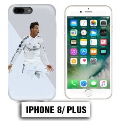 Coque iphone 8 PLUS Ronaldo Madrid