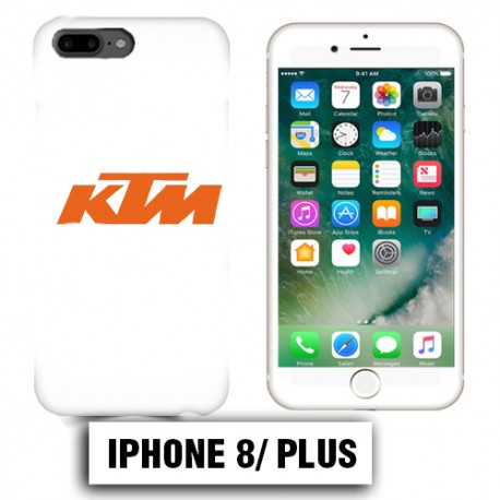 coque iphone 8 plus ktm blanc