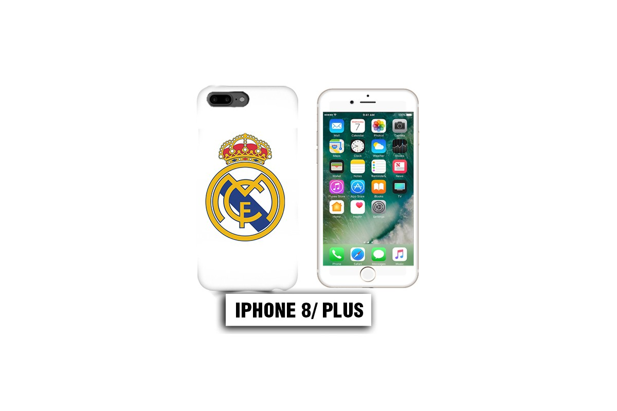coque iphone 8 plus foot