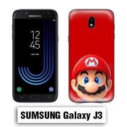 Coque Samsung J3 Mario Rouge