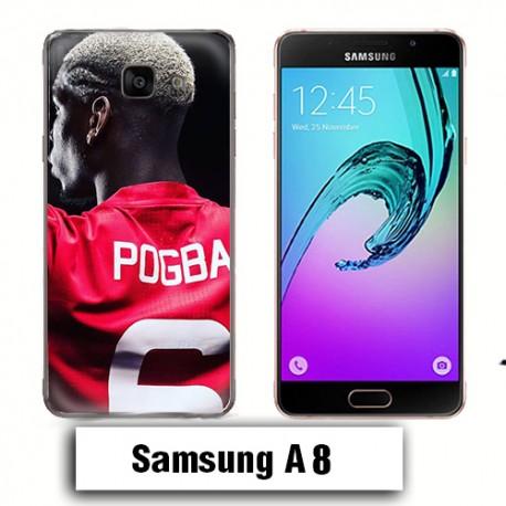 Coque Samsung A8 Pogba Manchester