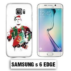 Coque Samsung S6 Edge Cristiano Ronaldo português