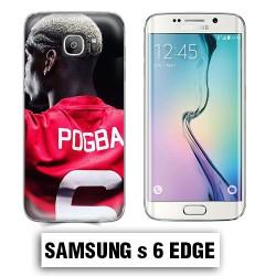 Coque Samsung S6 Edge Foot Pogba