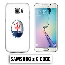 Coque Samsung S6 Edge logo Maserati