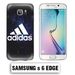 Coque Samsung S6 Edge Adidas Galaxie Noire