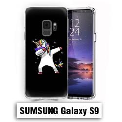 Coque Samsung S9 Licorne Noire