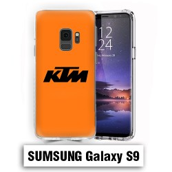 Coque Samsung S9 Logo KTM Orange
