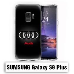 Coque Samsung S9 Plus Logo Audi Noire