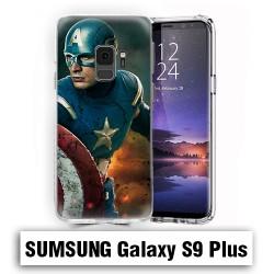 Coque Samsung S9 Plus Capitaine America avengers