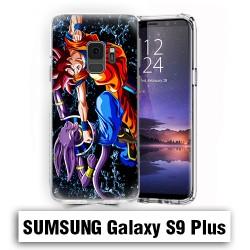 Coque Samsung S9 Plus dragon ball super saiyan