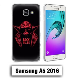 Coque Samsung A5 2016 yoda starwars Back i'll be