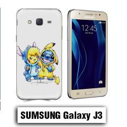 Coque Samsung J3 Pikachu