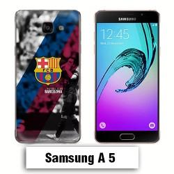 Coque Samsung A5 FCB barcelone Messi