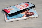 Personalized iPhone 11 case with silicone sides