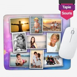 Personalized foam photo mouse pad