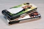 Etui iPhone 4/4s personnalisé à clapet en cuir