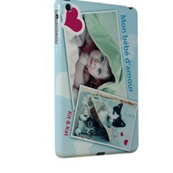 Coque iPad Mini 3 personnalisée avec côtés imprimés